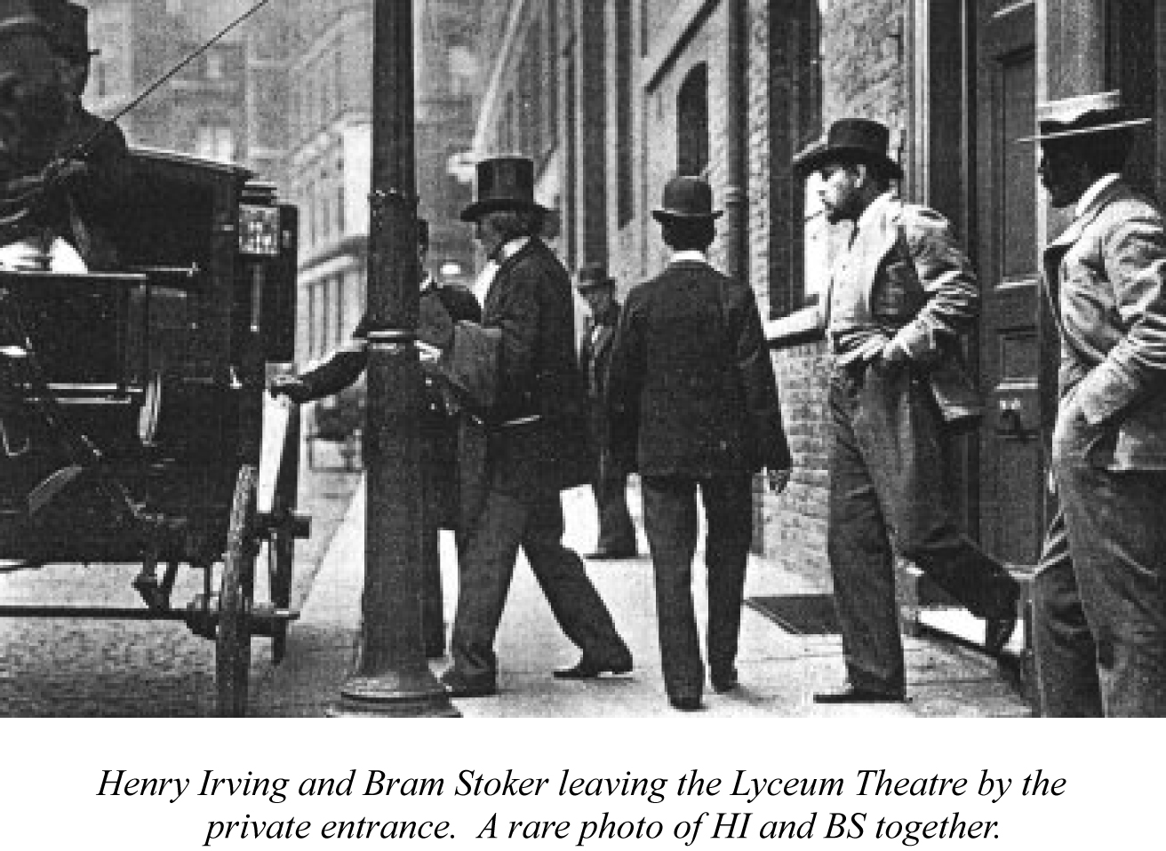 the life and works of bram stoker Series examining the life and work of irish novelist bram stoker.