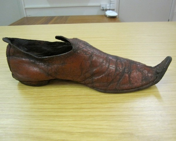 Irving's shoe?